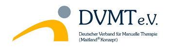 DVMT eV. - Deutscher Verband für Manuelle Therapie Logo auf der Seite der koerperwerkstatt für induktive Physiotherapie Berlin